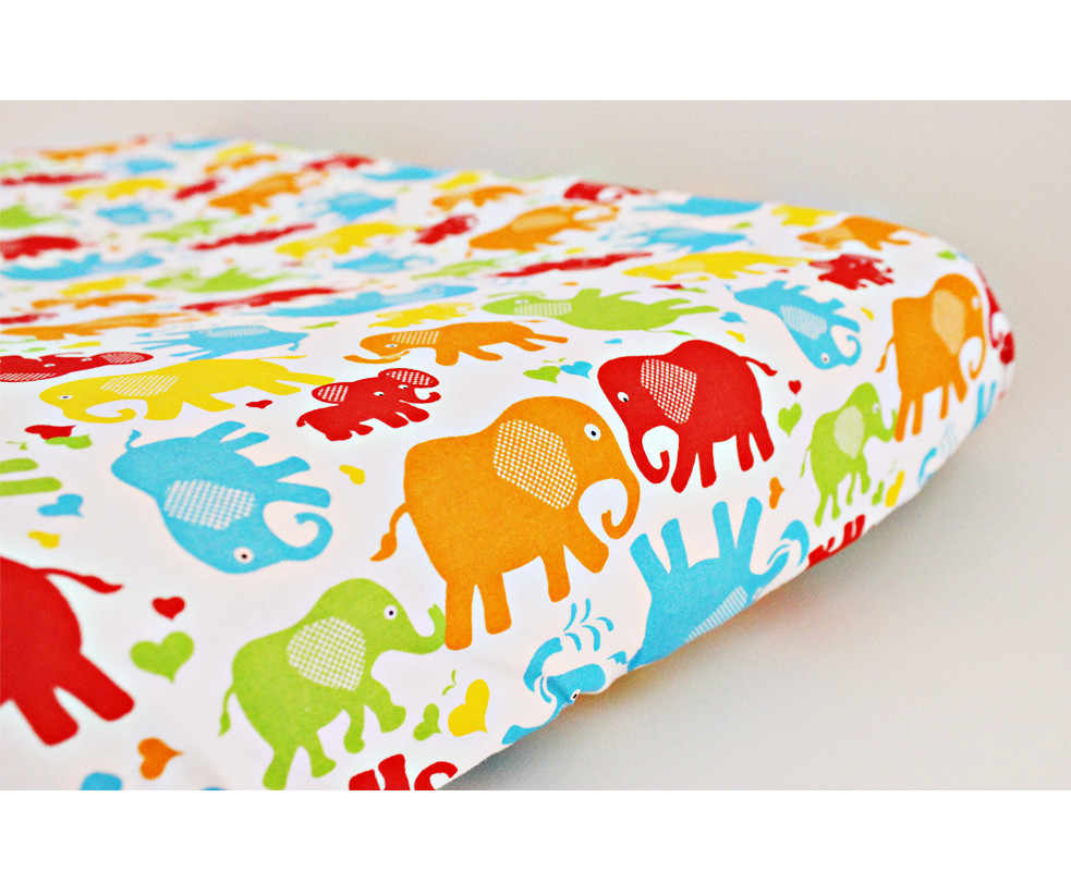 Change Mat Cover - Elephants