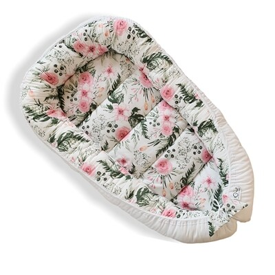 Baby Nest Day Bed Lounger Flowers