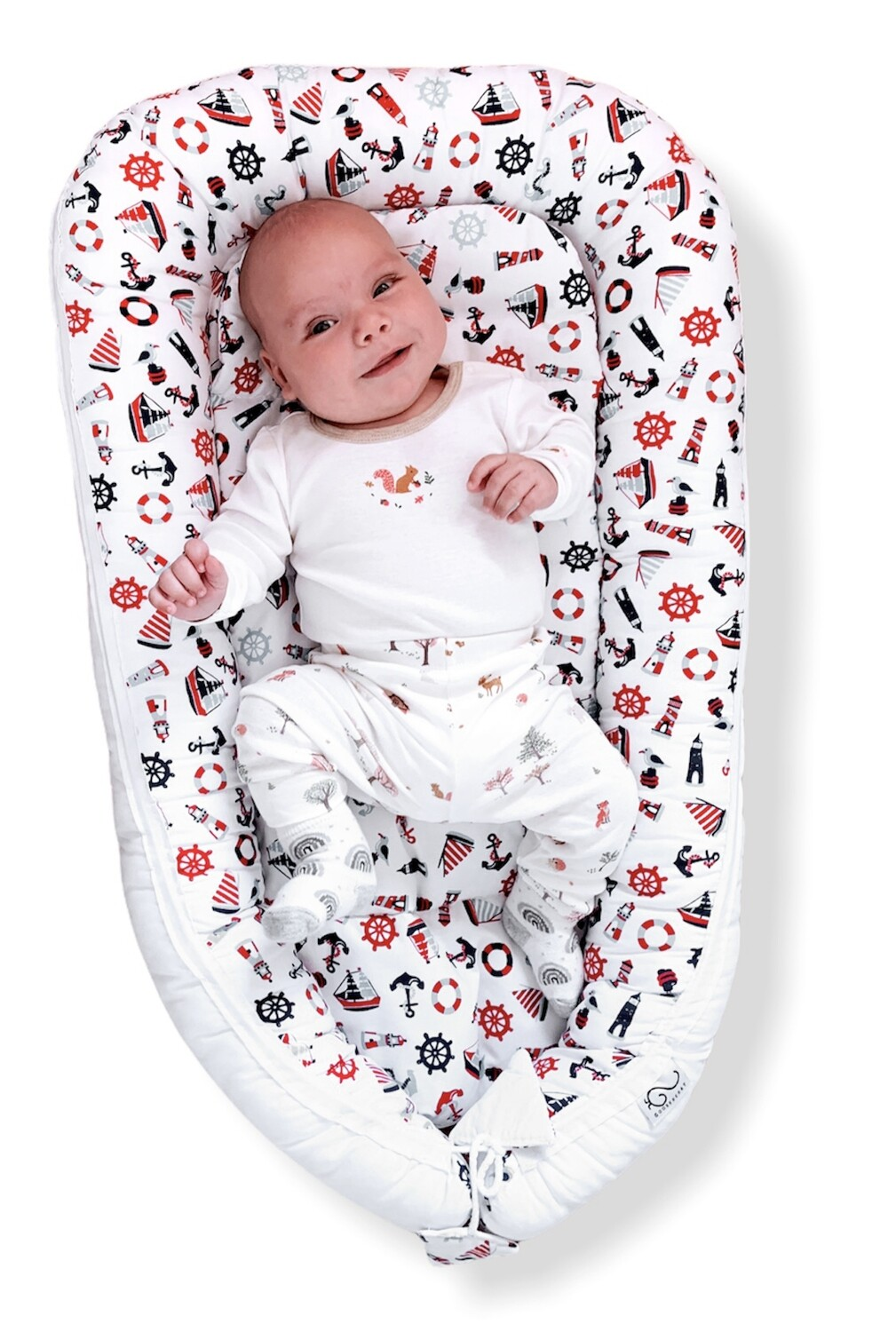Baby Nest Day Bed Lounger Nautical