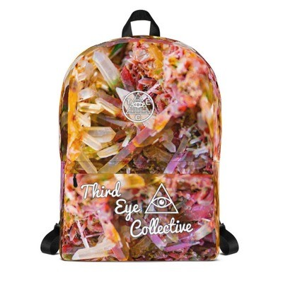 Third Eye Collective Crystal Phantom 💎 Ghost Quartz Backpack 💎