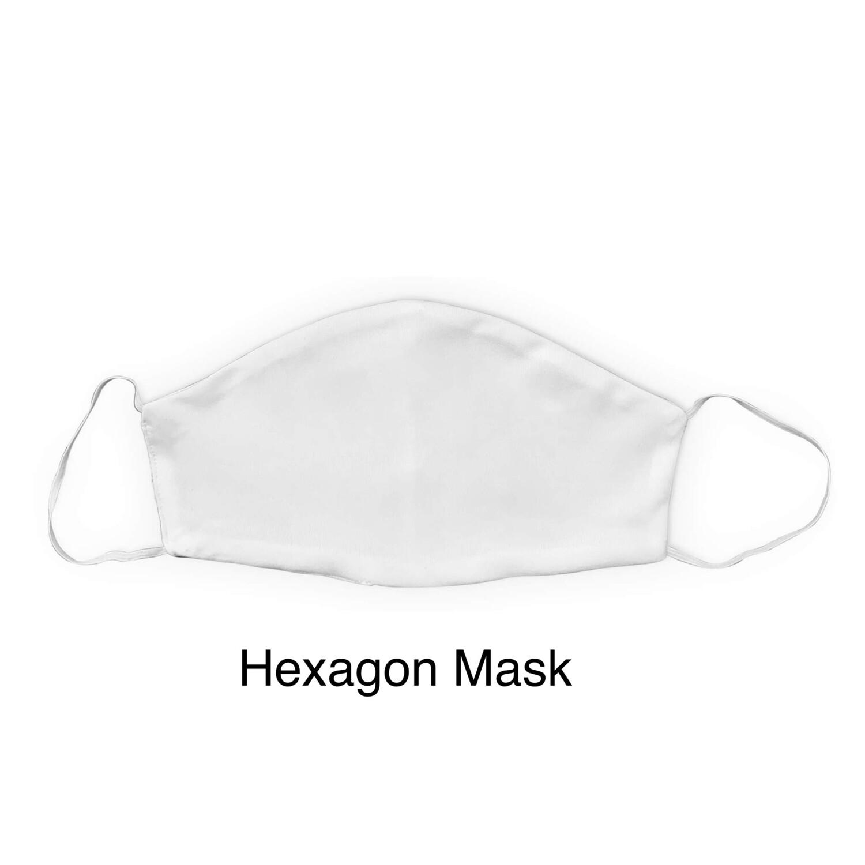 Custom Sublimation Face Covering (HEXAGON)