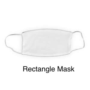 Custom Sublimation Face Covering (RECTANGLE)