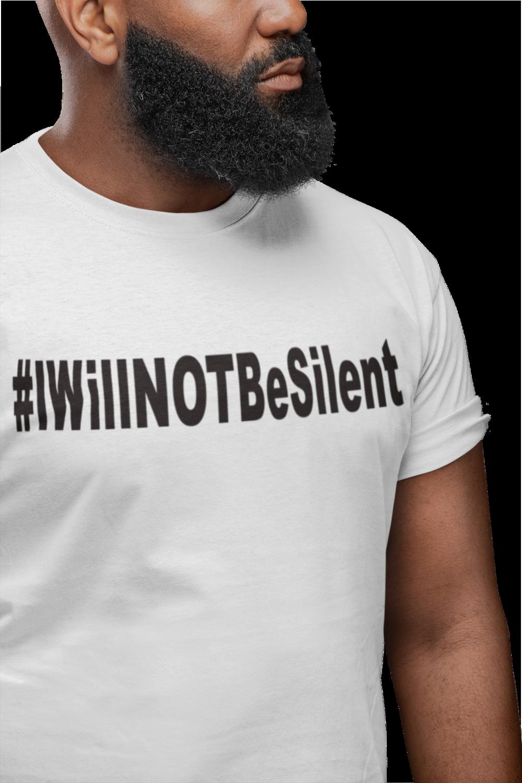 #IWillNOTBeSilent