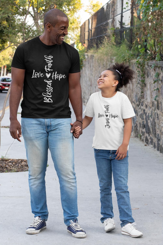 Love, Faith, Hope, Blessed or Love, Faith Hope, Jesus
