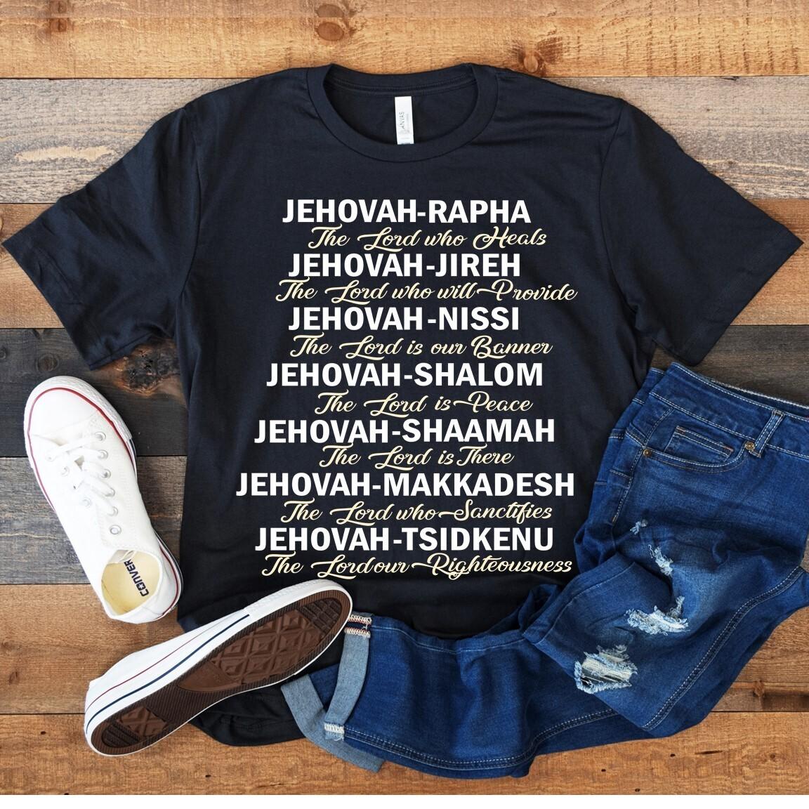 Powerful Names of Jesus T-Shirt