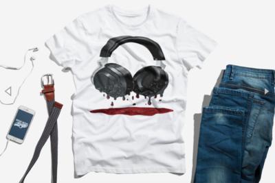 Bloody Headphones T-Shirt
