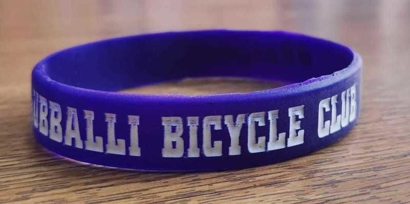 HBC #RespectCyclists wrist bands - 10Nos