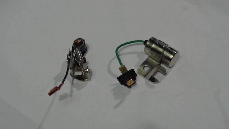 Stift og kondensator sett