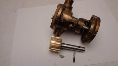 Kile i aksel for pumpedrev