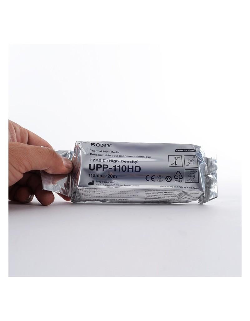 Sony UPP 110HD ασπρόμαυρη εκτύπωση σε ρολό 110mm x 20m.  (10 ρολά)