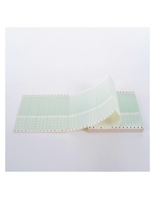 Toitu χαρτί καρδιοτοκογράφου με τρύπα 151mm x 150mm x 200sh. (20 τμχ)
