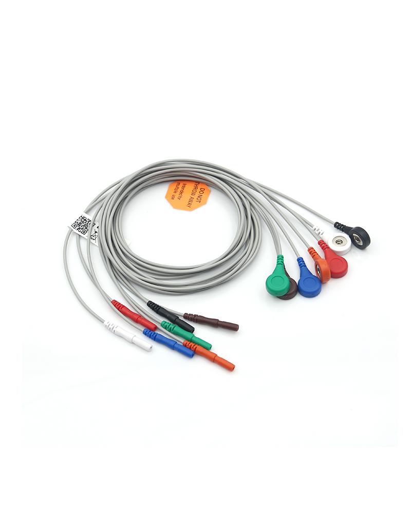 Καλώδιο holter 7 αποληξεων (1 σετ)