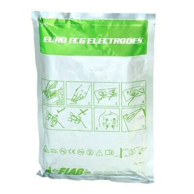 FIAB F9089/100 Ηλεκτρόδια αυτοκόλλητα ενηλίκων/παιδικά κατάλληλα για ηκγ,κόπωση,monitor & holter (2000 τμχ)