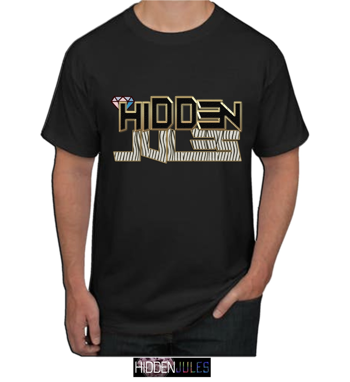 SHIRT: Hidden Jules Gold zebra (Premium Quality)