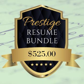 Prestige Resume Bundle