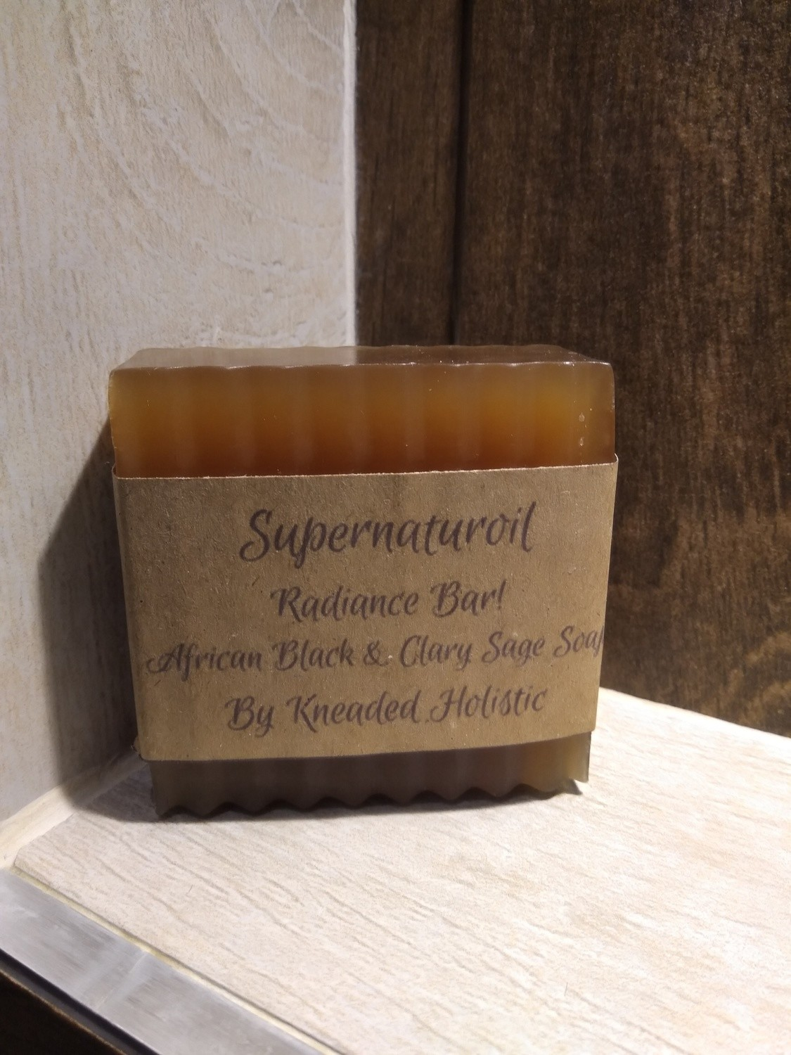 Radiance!  African Black and Clary sage Soap Bar