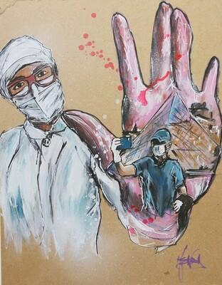stop covid nurse