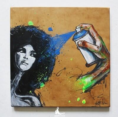 Afro spray