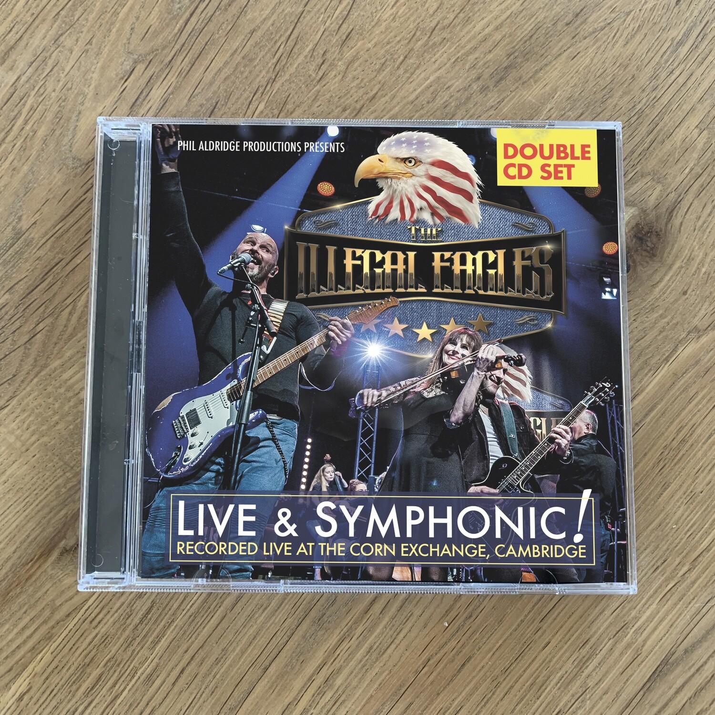 NEW! - Live & Symphonic! - Double Audio CD Set