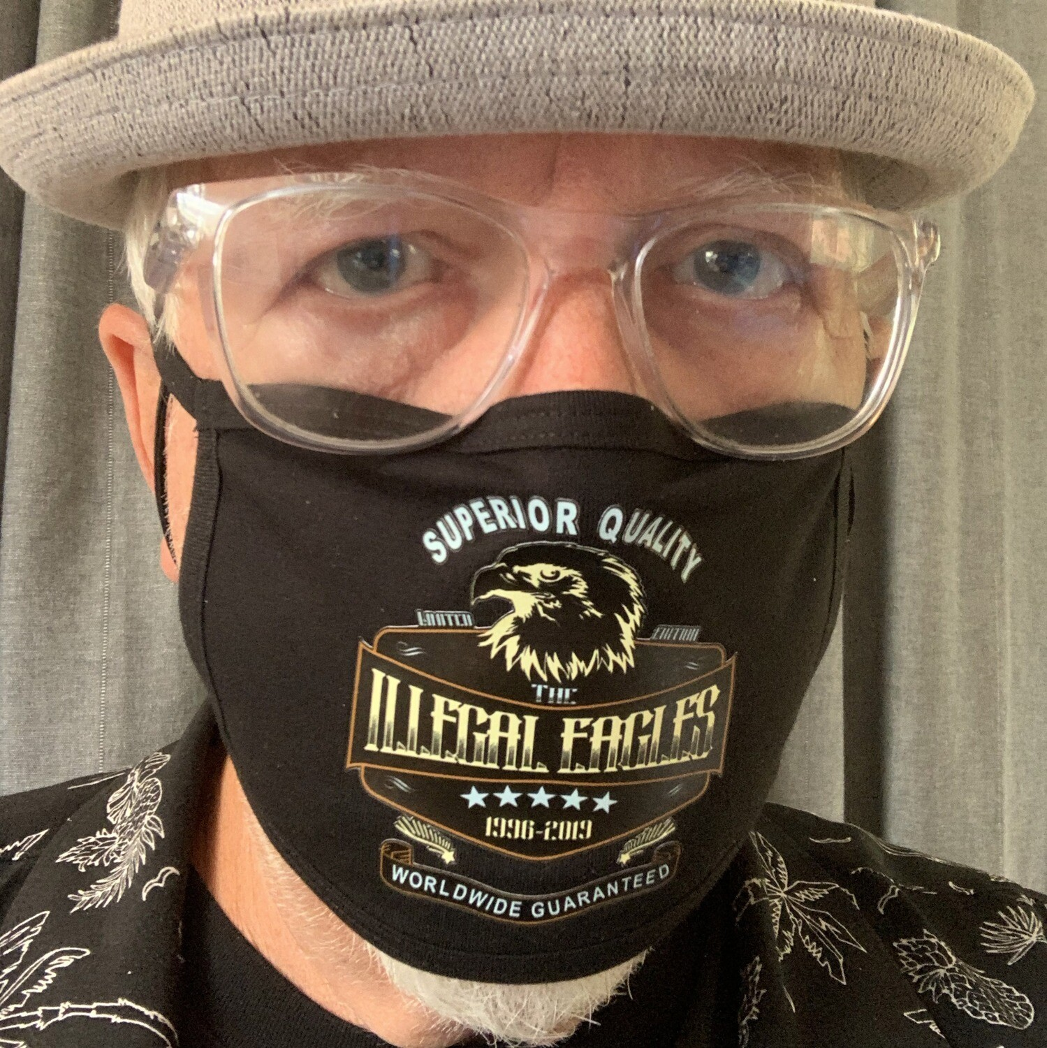 Face Mask - Logo on Black - NOW JUST £10!