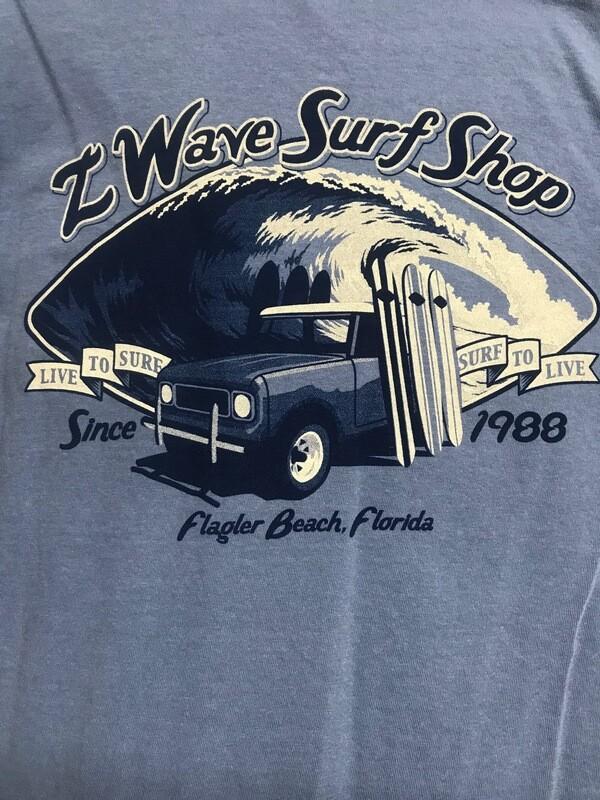 Men's Z Wave T Shirt ~ Limited Availability
