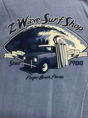 Men's Z Wave T Shirt ~ Limited Availability