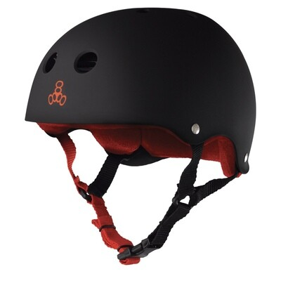Triple Eight Helmet Small Black/Red