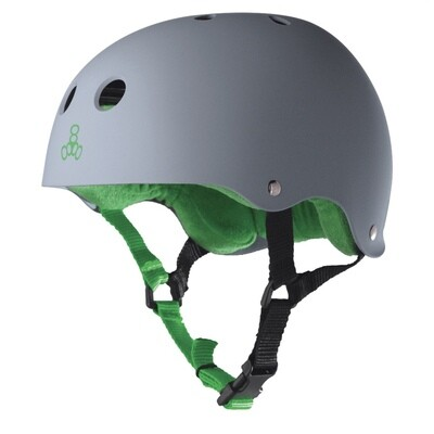 Triple Eight Helmet Medium Grey/Green