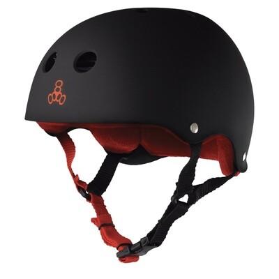 Triple Eight Helmet Large Black/Red