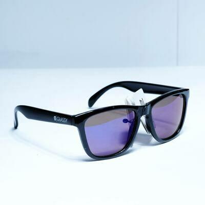 Glassy Deric Black/blue Mirrow