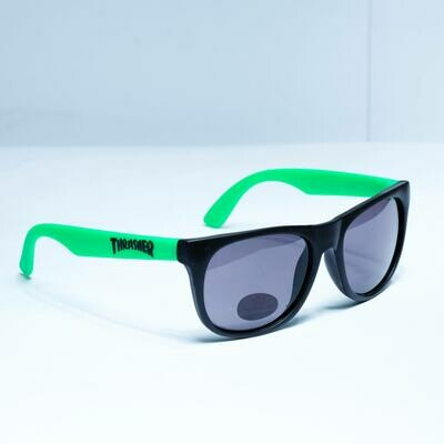 Thrasher Logo Green/black