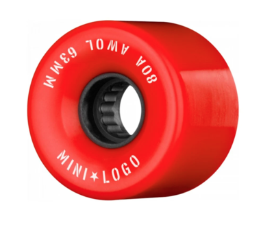 Mini Logo AWOL 63mm 80A Red