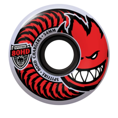 Spitfire Chargers Red 56mm 80a