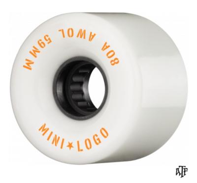 Mini Logo AWOL 59mm 80A White