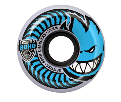 Spitfire Chargers Blue 56mm 80A