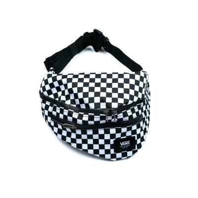 Vans Ward Cross Body Bag Black/White Checker