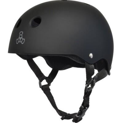Triple Eight Helmet Small Black/Black