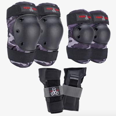 Triple Eight Saver Series Pad Pack Charcoal Camo