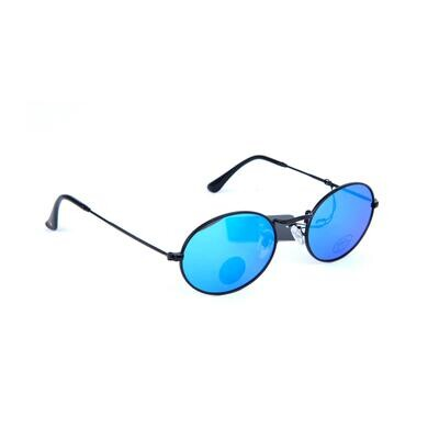 Glassy Campbell Polarized Black/blue Mirrow