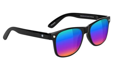 Glassy Leonard Polarized Black/Multicolor