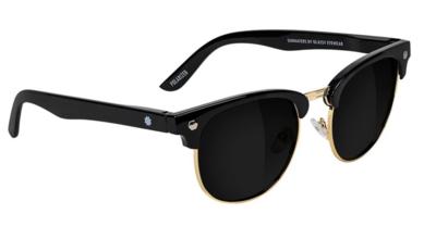 Glassy Morisson Polarized Black/Gold
