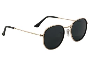 Glassy Hudson Polarized Black/Gold