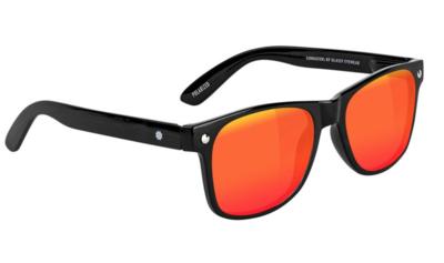Glassy Leonard Polarized Black/Red
