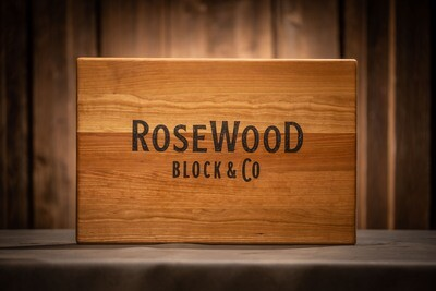STOCK- Topper, Cherry - RoseWood Block & Co