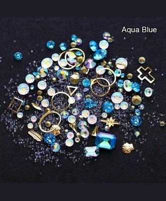 Boitier surprise aqua bleu