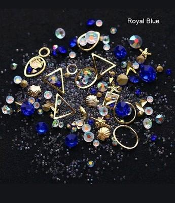 Boitier surprise bleu royal