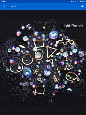 Boitier bijoux light purple