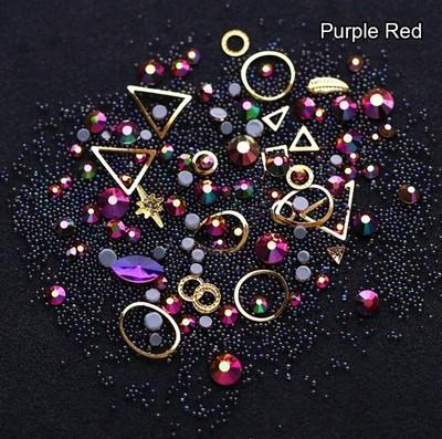Boitier surprise purple red
