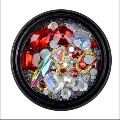 Bijoux mix (6 couleurs)
