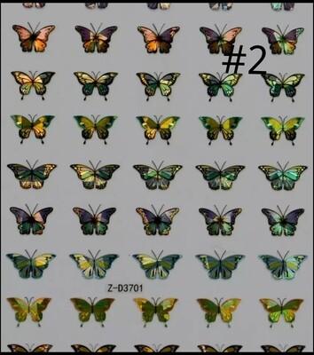 Autocollants papillons